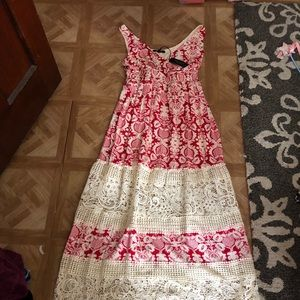 NWT: Romeo & Juliet Couture Bohemian Maxi Dress:M